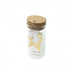 Σκουλαρίκι 3d Star