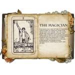 The Magician Κολιέ Κάρτα Ταρό