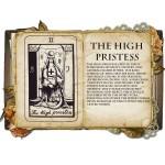 The High Priestess Κολιέ Κάρτα Ταρό