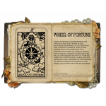 Wheel of fortune Κολιέ Κάρτα Ταρό