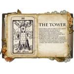 The Tower Κολιέ Κάρτα Ταρό