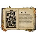 Death Κολιέ Κάρτα Ταρό