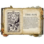 The Sun Κολιέ Κάρτα Ταρό