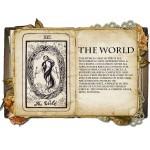 The World Κολιέ Κάρτα Ταρό