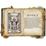 Justice Κολιέ Κάρτα Ταρό