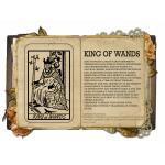 King of wands Κολιέ Κάρτα Ταρό