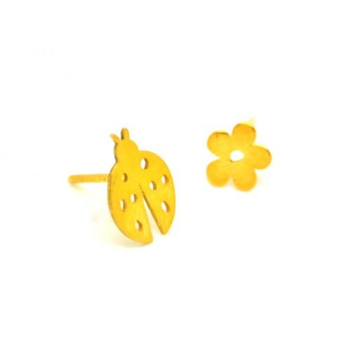 Σκουλαρίκι Πασχαλίτσα / Λουλούδι