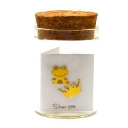 Σκουλαρίκι Βάτραχος / Κορώνα