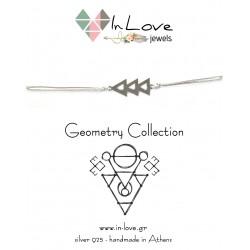 Βραχιόλι Geometry Arrow με κενό
