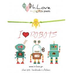 Βραχιόλι Robot Με ρόδα