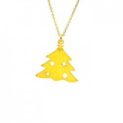 Κολιέ Χριστουγεννιάτικο Δέντρο